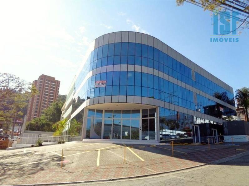 Prédio comercial para locação, Centro de Apoio I (Alphaville), Santana de Parnaíba - PR0161.