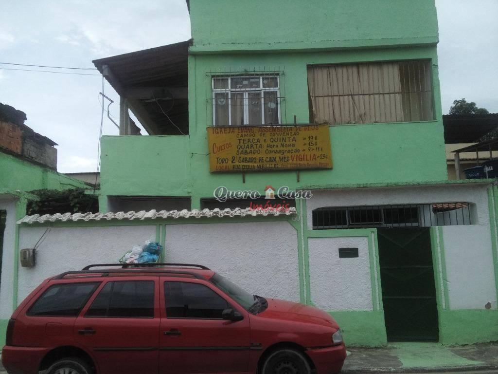 Sobrado residencial à venda, Pilar, Duque de Caxias.