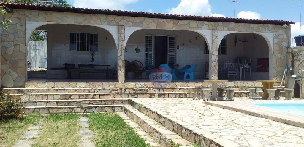 Casa com 3 dormitórios à venda, 130 m² por R$ 350.000 - Forno da Cal - Ilha de Itamaracá/PE