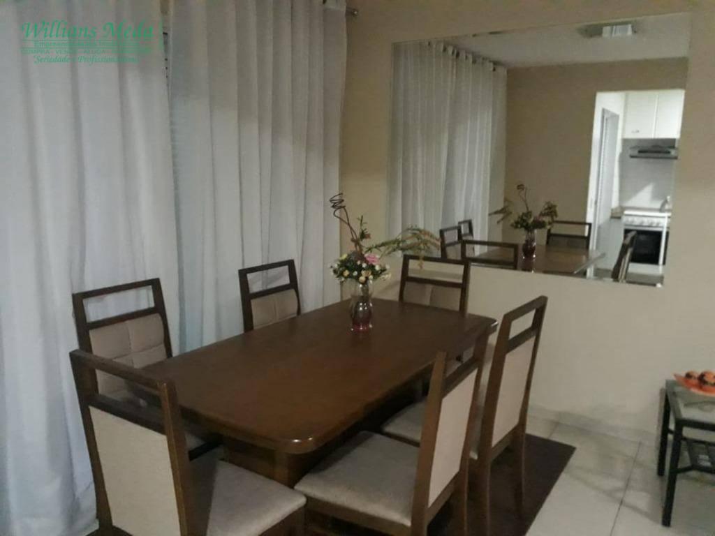 Sobrado com 3 dormitórios à venda, 88 m² por R$ 565.000 - Parque Renato Maia - Guarulhos/SP