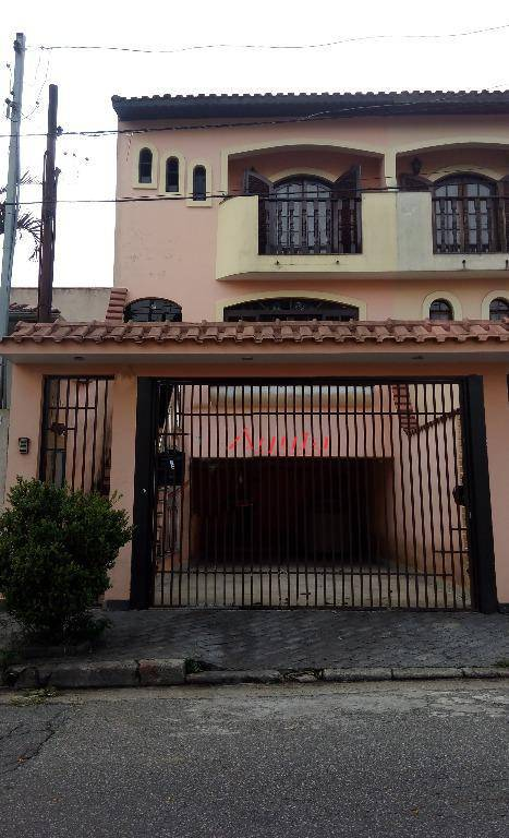 Sobrado com 3 dormitórios à venda, 220 m² por R$ 489.000,00 - Jardim Sônia Maria - Mauá/SP