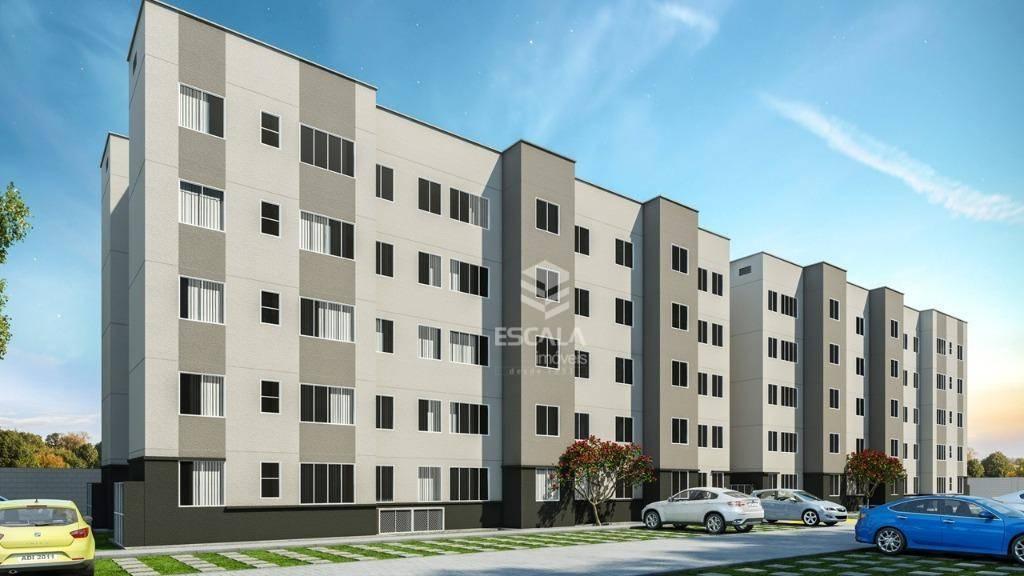 Apartamento com 2 quartos à venda, 55 m², área de lazer, minha casa minha vida - Mesejana - Fortaleza/CE