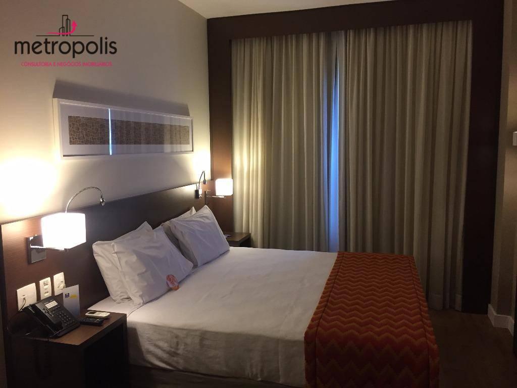 Hotel com 1 dormitório à venda, 21 m² por R$ 300.000,00 - Cerâmica - São Caetano do Sul/SP