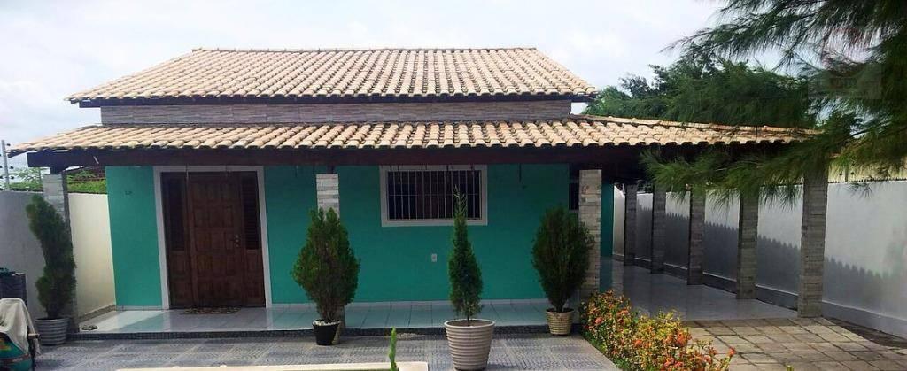 Casa residencial à venda, Praia de Fagundes, Lucena - CA0013