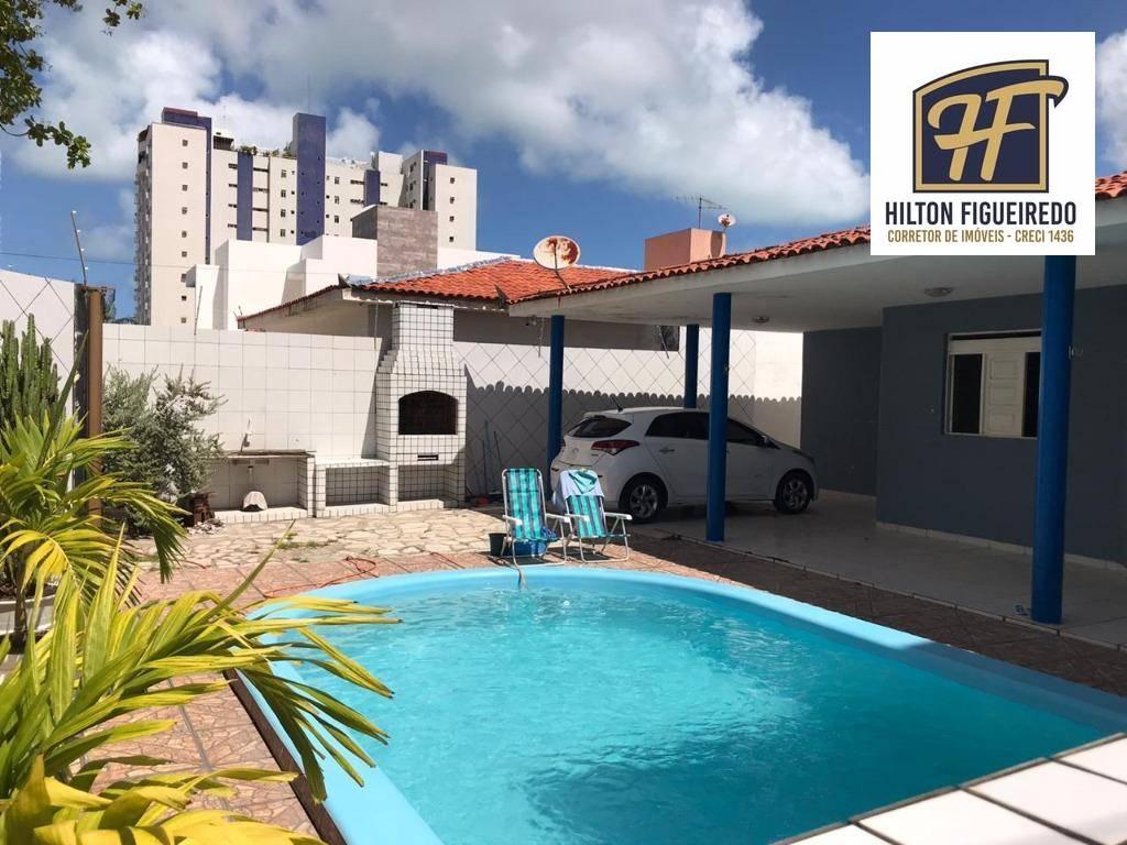 Casa com 3 dormitórios à venda, 152 m² por R$ 550.000,00 - Bessa - João Pessoa/PB