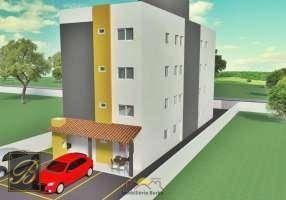 Apartamento com 2 dormitórios à venda, 52 m² por R$ 157.000 - Aventureiro - Joinville/SC