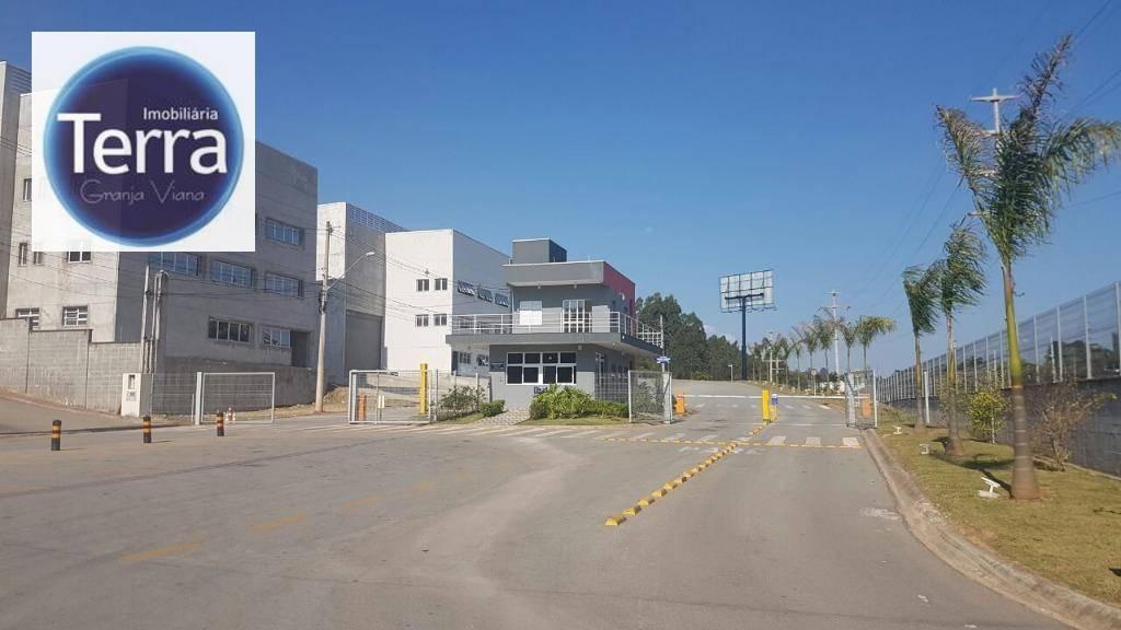 Terreno industrial à venda, Centro Empresarial Raposo Tavares, Vargem Grande Paulista.