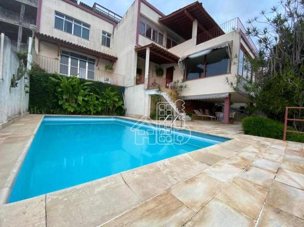 Casa com 4 dormitórios à venda, 492 m² por R$ 1.590.000,00 - São Francisco - Niterói/RJ