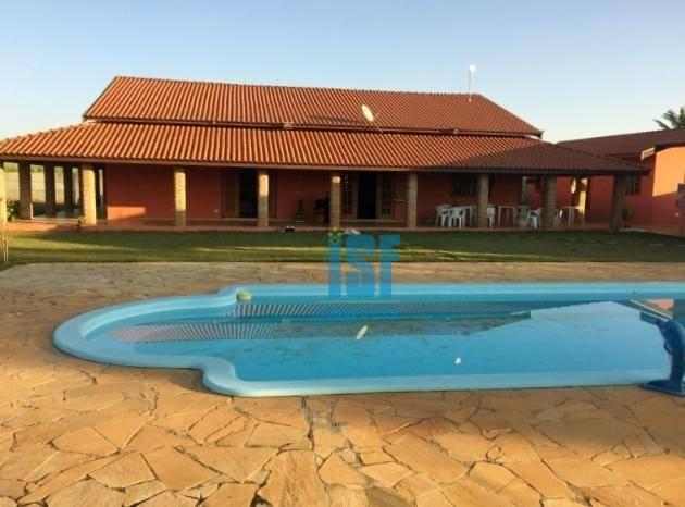 Chácara com 4 dormitórios à venda, 6000 m² por R$ 780.000 - Condomínio Reserva Campos de Boituva - Boituva/SP - CH0019.