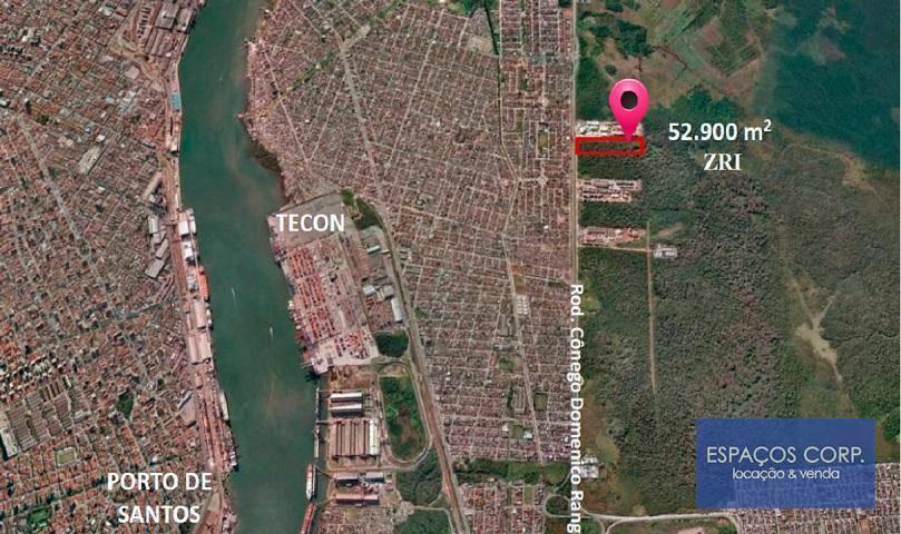 Terreno à venda, 52.900m² - Vila Áurea (Vicente de Carvalho) - Guarujá/SP