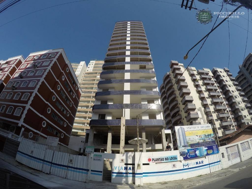 Apartamento novo R$ 50 Mil de entrada mais parcelas Vila Tupi, Praia Grande.