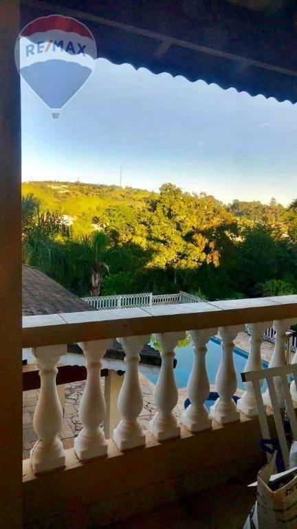 Chácara com 4 dormitórios à venda, 2034 m² por R$ 865.000,00 - Jardim Estância Brasil - Atibaia/SP