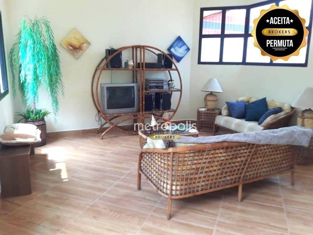 Cobertura à venda, 170 m² por R$ 490.000,00 - Jardim Três Marias - Guarujá/SP
