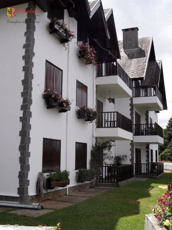 Apartamento  residencial à venda, Jardim Belvedere, Campos do Jordão.