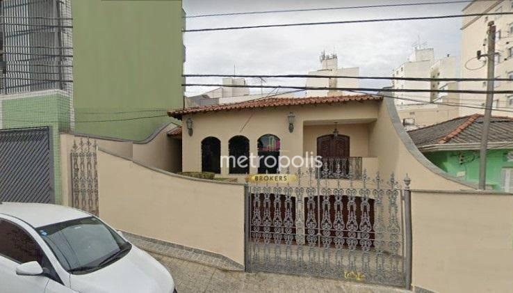 Casa com 3 dormitórios para alugar, 300 m² por R$ 6.000,00/mês - Santa Maria - São Caetano do Sul/SP