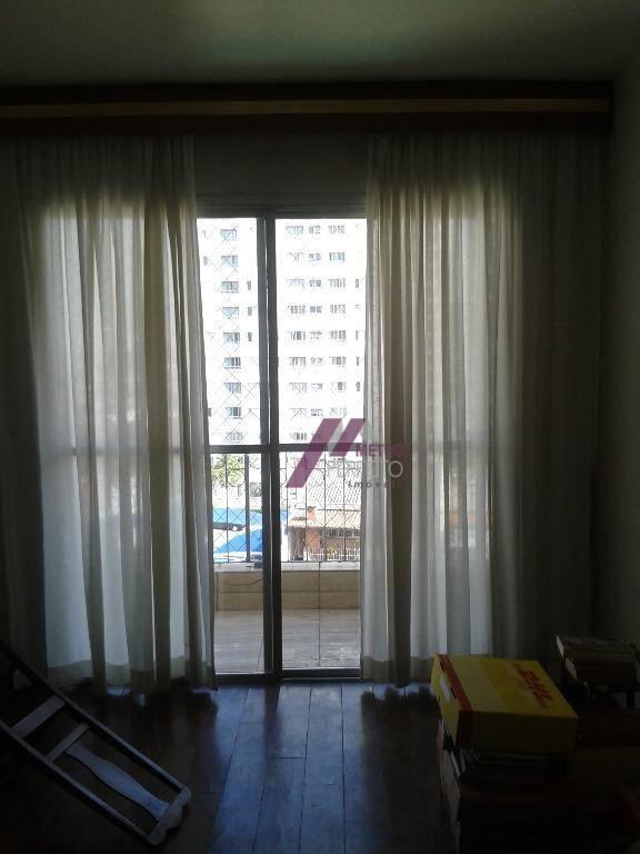Apartamento com 3 dormitórios para alugar, 90 m² por R$ 2.000,00/mês - Mooca - São Paulo/SP