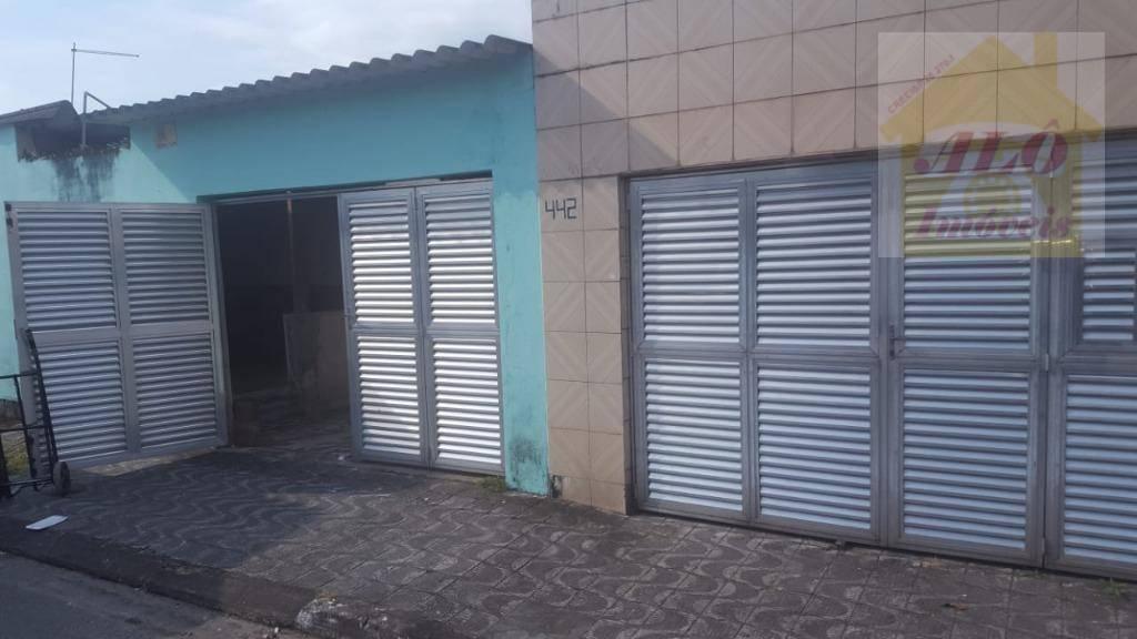 Terreno à venda, 327 m² por R$ 430.000 - Campo da Aviação - Praia Grande/SP