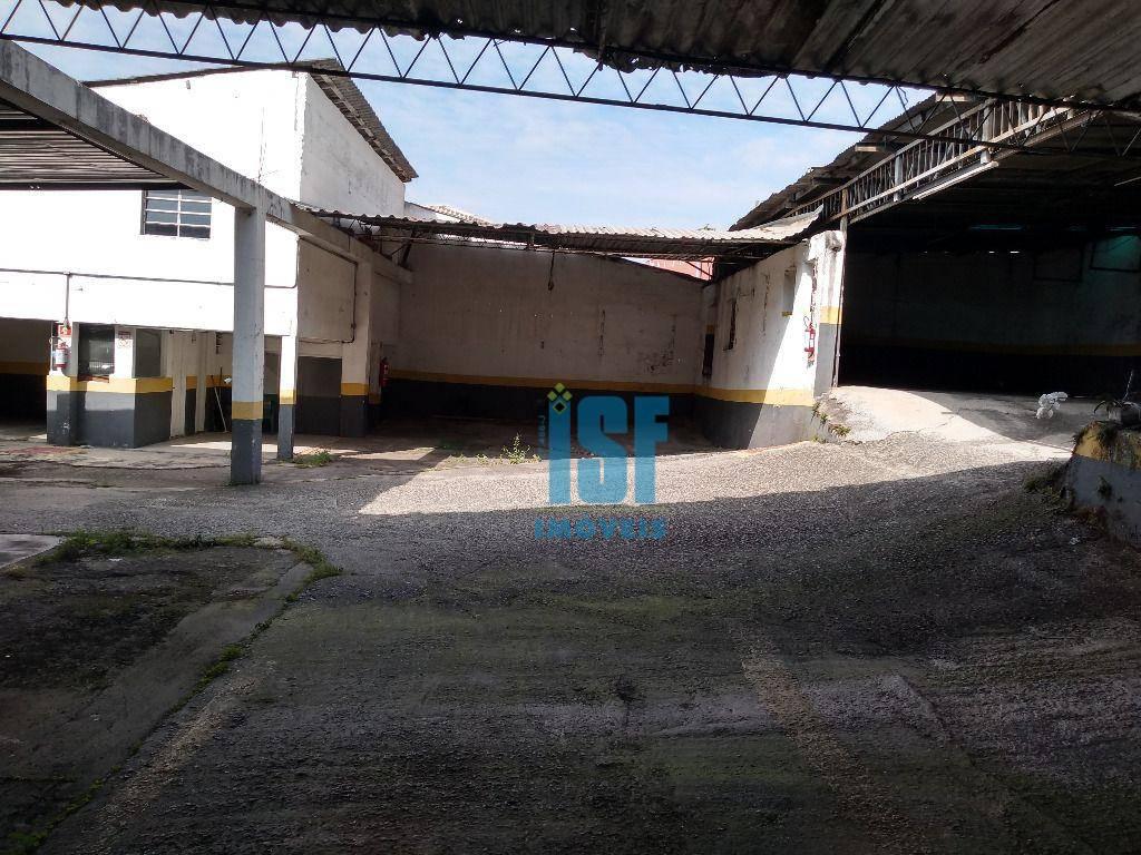 Barracão para alugar, 650 m² por R$ 10.000/mês - Centro - Osasco/SP