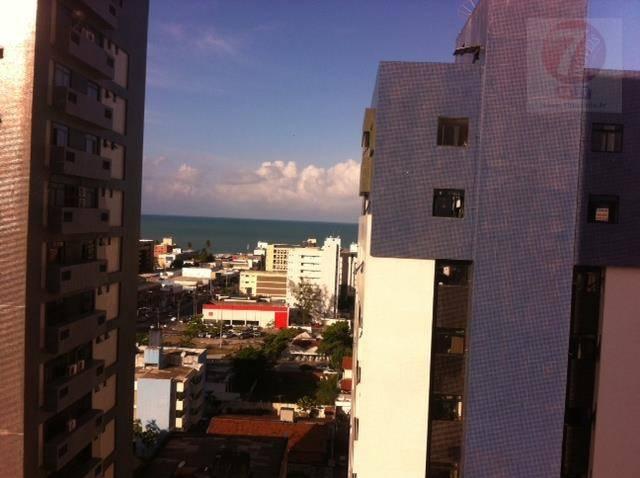 Apartamento residencial para locação, Manaíra, João Pessoa -