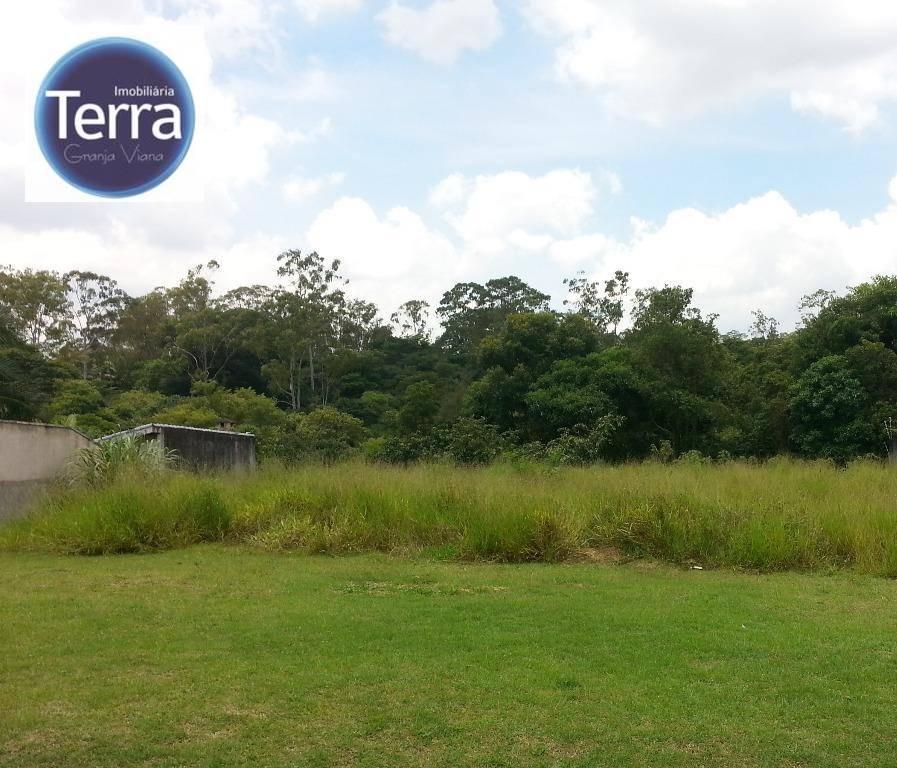 Terreno  residencial à venda, Jardim Passárgada I, Granja Viana.