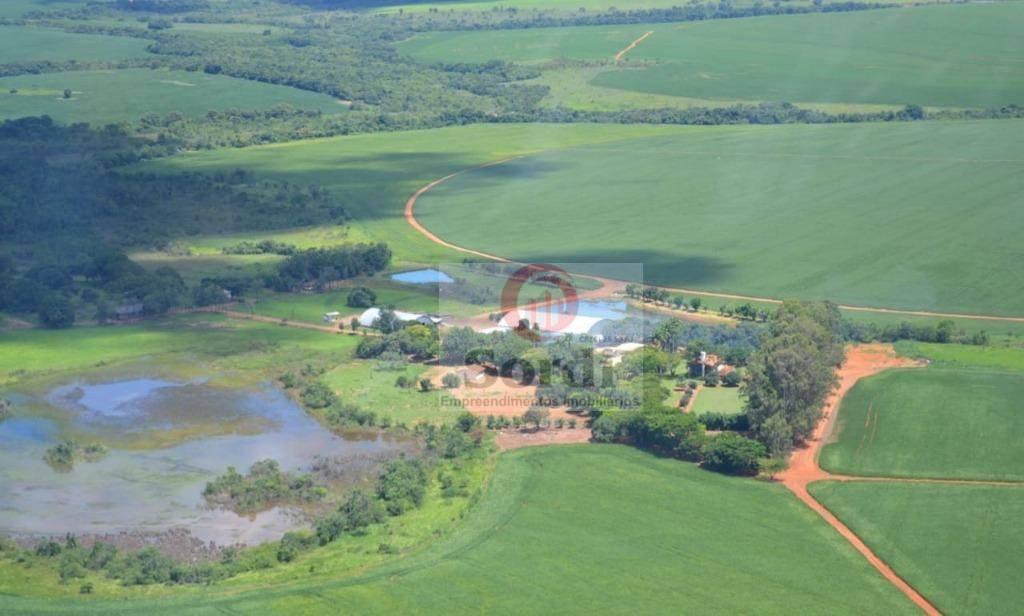 Fazenda à venda, 20200000 m² por R$ 156.000.000,00 - Zona Rural - Ipameri/GO