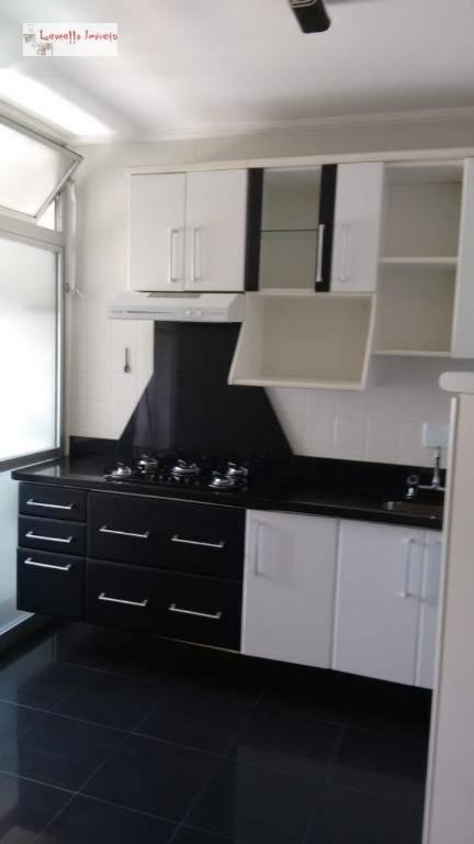 Apartamento com 2 dormitórios para alugar, 56 m² - Assunção - São Bernardo do Campo/SP