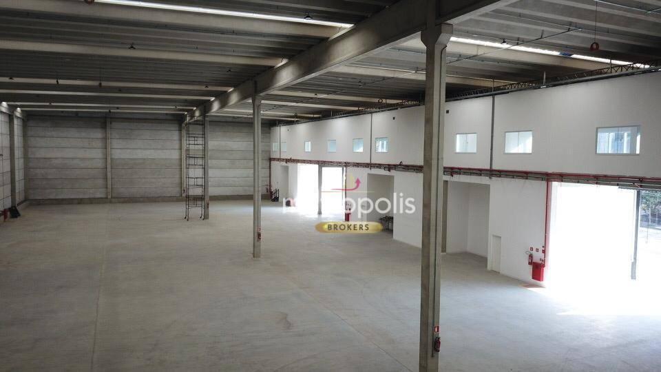 Galpão para alugar, 852 m² por R$ 19.604,51/mês - Jardim Ruyce - Diadema/SP