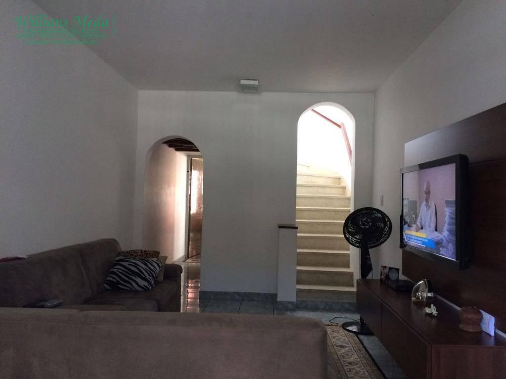 Sobrado residencial para locação, Vila Rosália, Guarulhos.