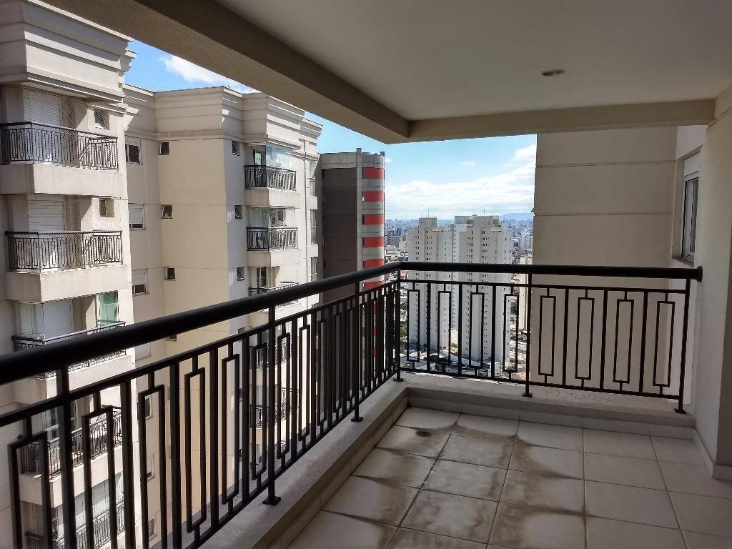 Apartamento residencial à venda 144 m², varanda gourmet e 3 suítes!!! Bairro Campestre, Santo André.