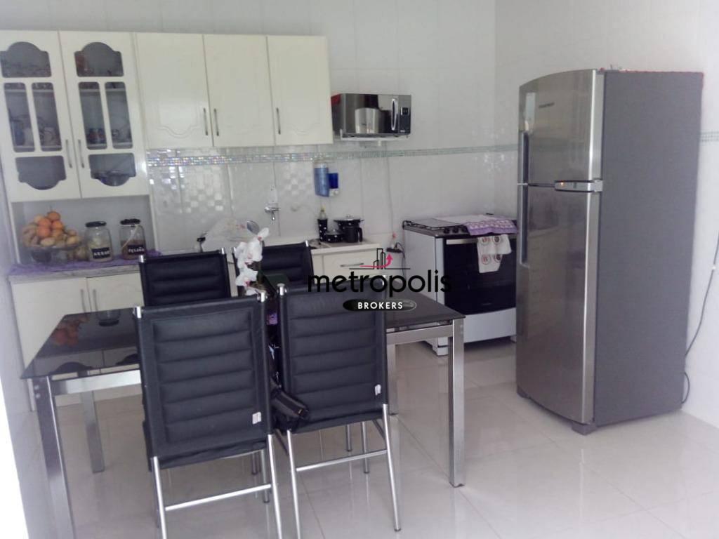 Sobrado residencial à venda, Vila Independência, Mauá.