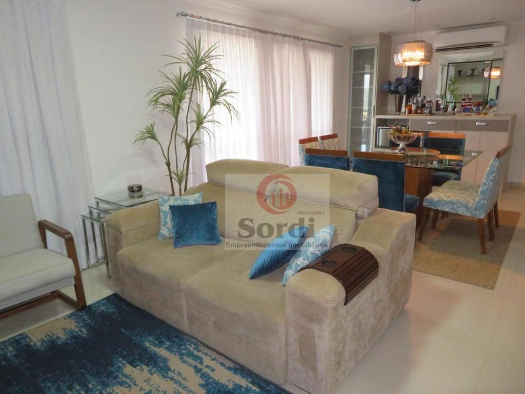 Apartamento com 3 dormitórios à venda, 111 m² por R$ 595.000 - Jardim Nova Aliança Sul - Ribeirão Preto/SP