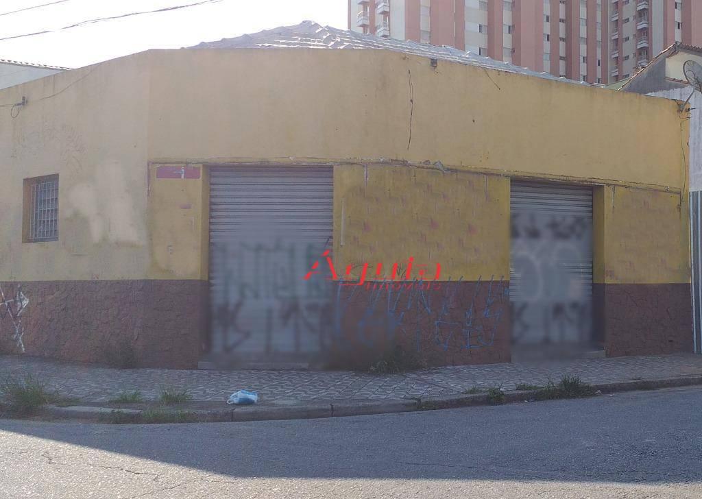 Salão à venda, 182 m² por R$ 750.000 - Casa Branca - Santo André/SP