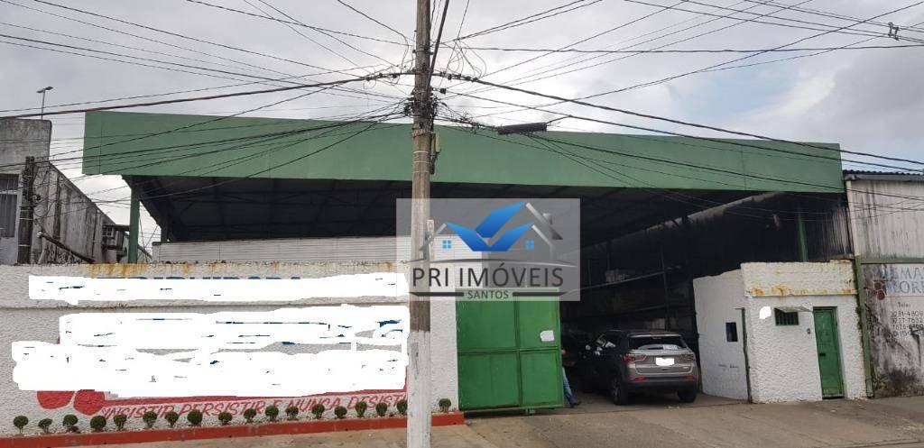 Galpão à venda, 600 m² por R$ 1.280.000,00 - Estuário - Santos/SP