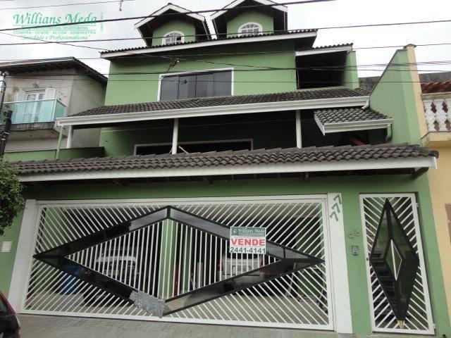 Sobrado  residencial à venda, Jardim City, Guarulhos.