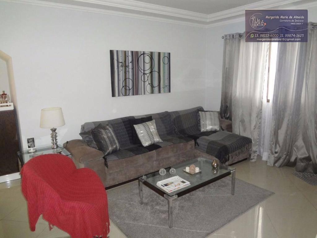 Casa, sobreposta baixa  à venda, Embaré, Santos.