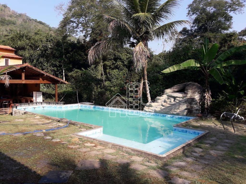 Sítio com 5 dormitórios à venda, 3000 m² por R$ 900.000,00 - Itaocaia Valley (Itaipuaçu) - Maricá/RJ