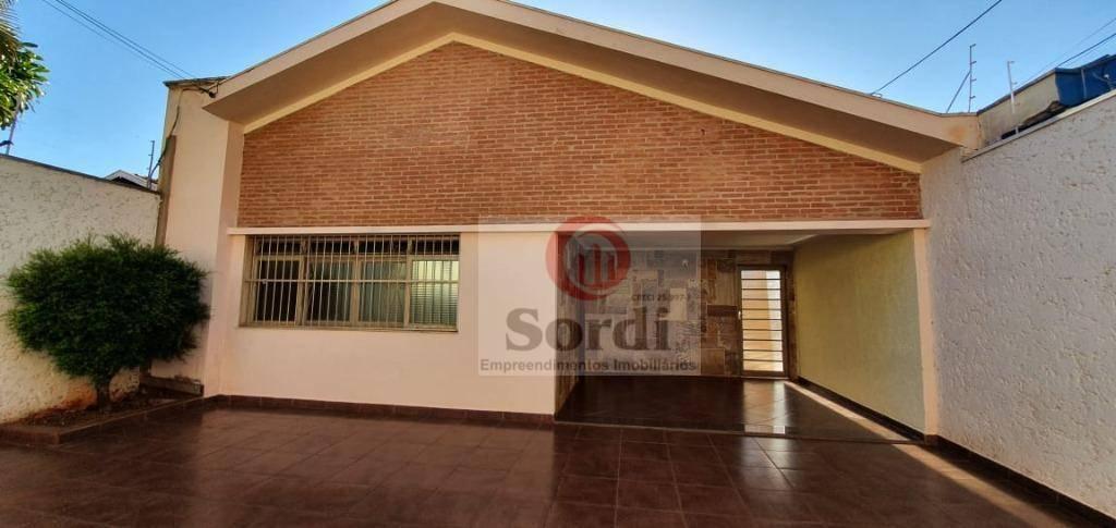 Casa com 3 dormitórios à venda, 209 m² por R$ 650.000,00 - Jardim Paulista - Ribeirão Preto/SP