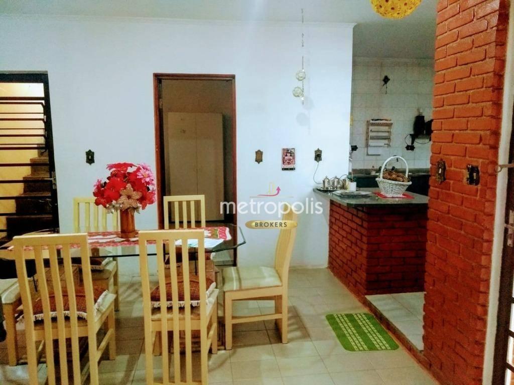 Casa à venda por R$ 840.000,00 - Campestre - Santo André/SP