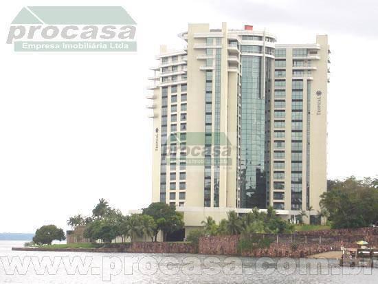 Flat com 1 dormitório para alugar, 77 m² por R$ 6.000,00 - Ponta Negra - Manaus/AM