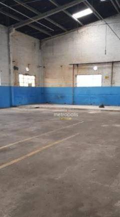 Galpão para alugar, 1182 m² por R$ 15.000,00/mês - Nova Petrópolis - São Bernardo do Campo/SP