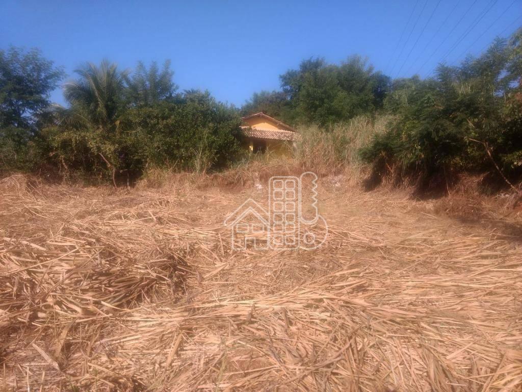 Terreno à venda, 355 m² por R$ 110.000,00 - Maria Paula - São Gonçalo/RJ