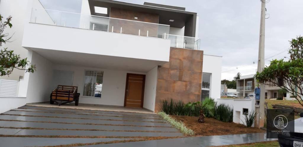 Sobrado com 3 dormitórios à venda, 270 m² por R$ 980.000 - Condomínio Villagio Di Capri - Votorantim/SP