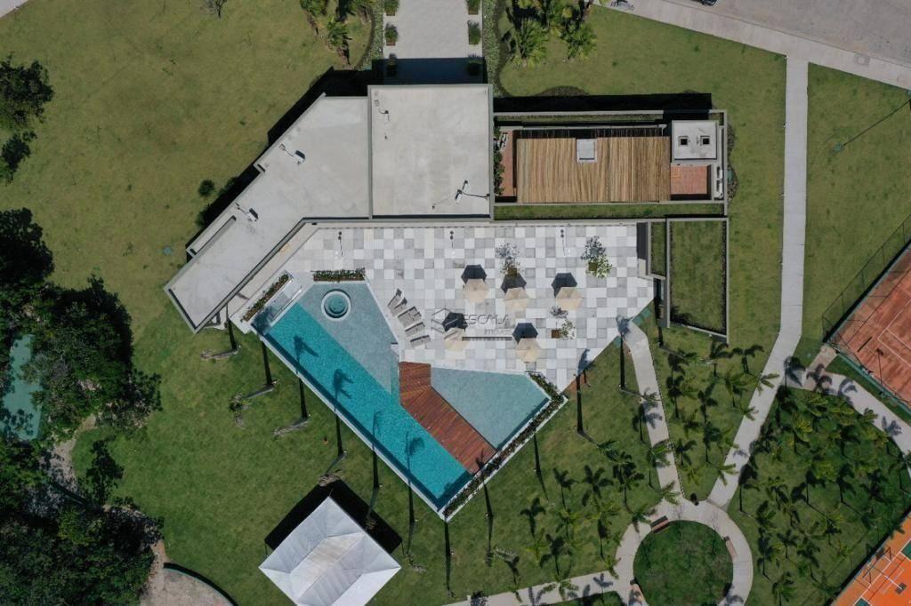 Lote à venda, 242 m², Jardins Terra Brasilis, condomínio fechado, financia- Centro ? Aquiraz/Ce
