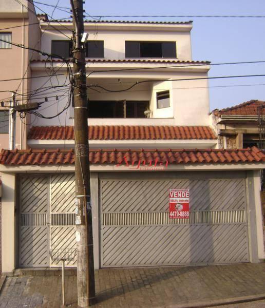 Sobrado com 4 dormitórios à venda, 286 m² por R$ 850.000,00 - Bangu - Santo André/SP