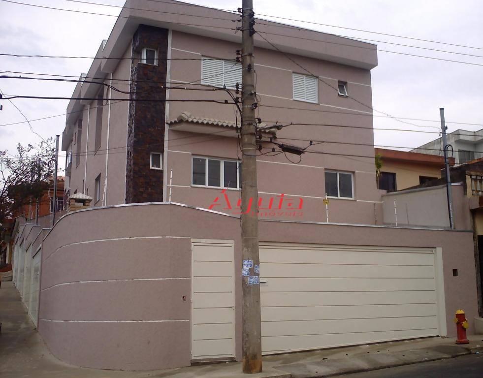 Sobrado residencial à venda, Parque Oratório, Santo André - SO0403.