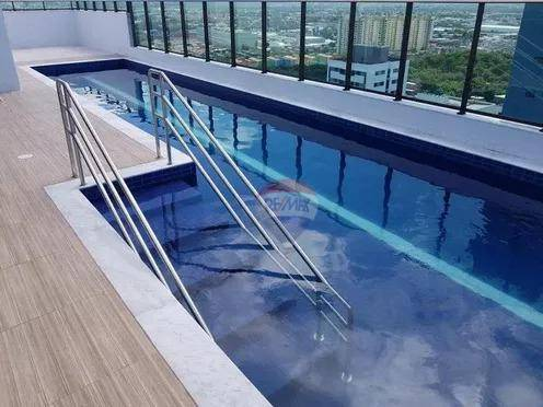 Flat com 1 dormitório à venda, 35 m² por R$ 260.000,00 - Boa Viagem - Recife/PE