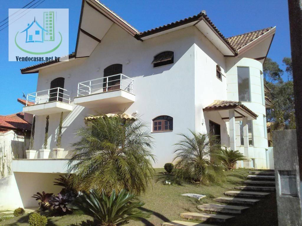 Condomínio Fazenda Da Ilha - Embú Guaçú - Majestoso Sobrado  Com 400 M²