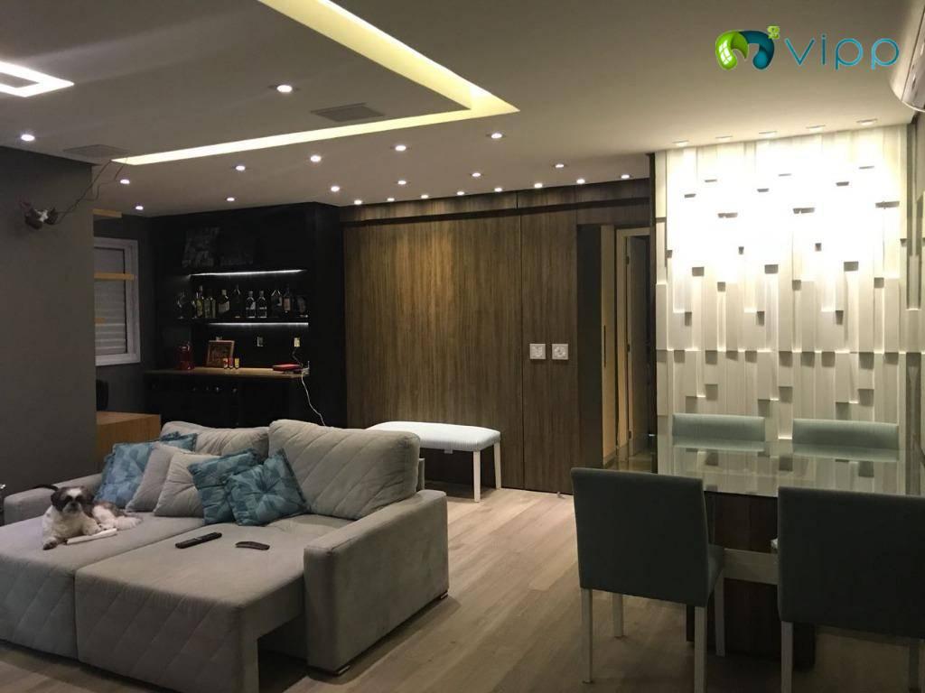 Apartamento com 2 dormitórios à venda, 64 m² por R$ 420.000,00 - Fundação - São Caetano do Sul/SP