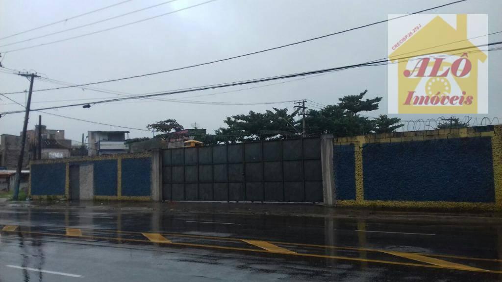 Área comercial à venda, Parque São Vicente, São Vicente.