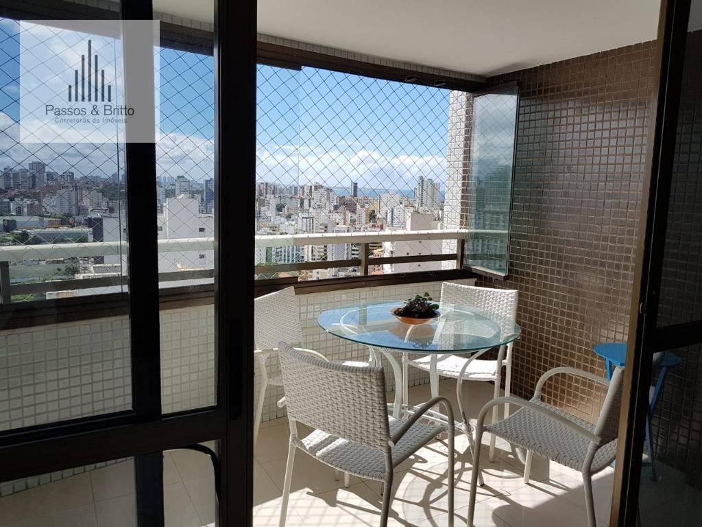 Apartamento com 3 dormitórios à venda, 145 m² por R$ 800.000 - Pituba - Salvador/BA